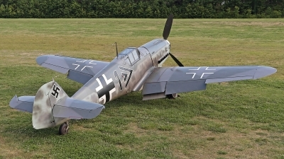 Photo ID 193294 by David F. Brown. Private Military Aviation Museum Messerschmitt Bf 109G 4, N109GY