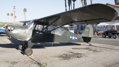 Photo ID 193405 by W.A.Kazior. Private American Airpower Heritage Flying Museum Aeronca L 3 Grasshopper, N36687