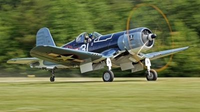 Photo ID 193356 by David F. Brown. Private Military Aviation Museum Goodyear FG 1D Corsair, N46RL