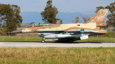 Photo ID 193444 by Stamatis Alipasalis. Israel Air Force General Dynamics F 16D Fighting Falcon, 642