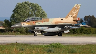 Photo ID 193442 by Stamatis Alipasalis. Israel Air Force General Dynamics F 16D Fighting Falcon, 664