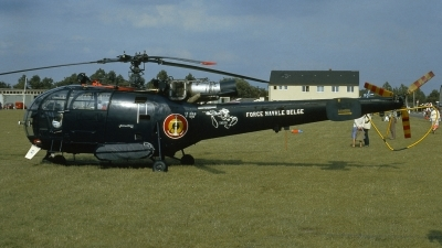 Photo ID 194002 by Michael Frische. Belgium Navy Aerospatiale SA 316B Alouette III, M 1