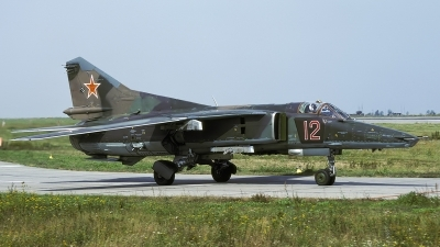 Photo ID 193677 by Chris Lofting. Russia Air Force Mikoyan Gurevich MiG 27D Flogger J,