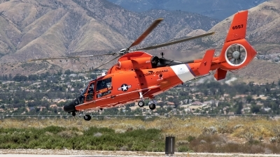 Photo ID 193630 by W.A.Kazior. USA Coast Guard Aerospatiale HH 65C Dolphin SA 366G 1, 6557
