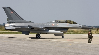 Photo ID 23121 by Roberto Bianchi. Denmark Air Force General Dynamics F 16BM Fighting Falcon, ET 199