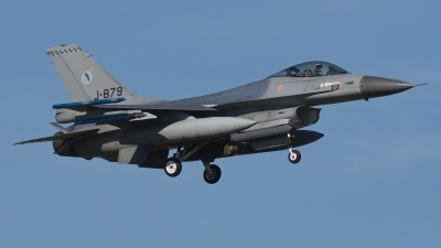 Photo ID 193900 by Rainer Mueller. Netherlands Air Force General Dynamics F 16AM Fighting Falcon, J 879