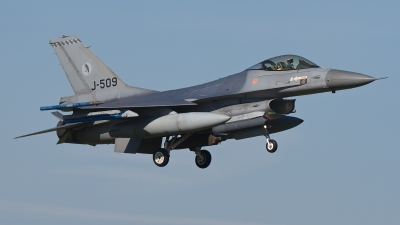 Photo ID 193899 by Rainer Mueller. Netherlands Air Force General Dynamics F 16AM Fighting Falcon, J 509