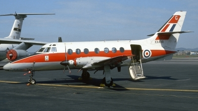 Photo ID 193936 by Michael Frische. UK Air Force Scottish Aviation HP 137 Jetstream T1, XX499