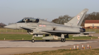 Photo ID 23010 by Rich Pittman. UK Air Force Eurofighter EF 2000 Typhoon T1, ZJ800
