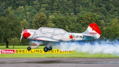 Photo ID 205327 by Agata Maria Weksej. Private Private Yakovlev Yak 52, LY HLZ