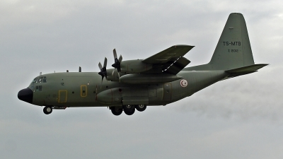 Photo ID 23175 by Andreas Hunold. Tunisia Air Force Lockheed C 130H Hercules L 382, Z21012