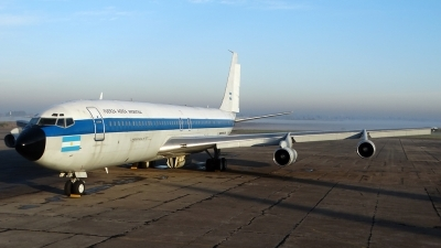 Photo ID 197645 by Martin Kubo. Argentina Air Force Boeing 707 389C, TC 91