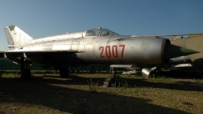 Photo ID 194879 by Michael Frische. Poland Air Force Mikoyan Gurevich MiG 21M, 2007