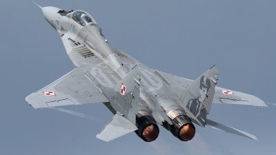 Photo ID 194488 by Rich Bedford - SRAviation. Poland Air Force Mikoyan Gurevich MiG 29A 9 12A, 89