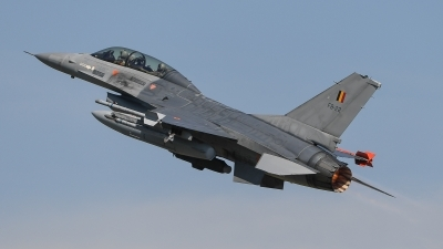 Photo ID 194626 by Luca Fahrni. Belgium Air Force General Dynamics F 16BM Fighting Falcon, FB 22