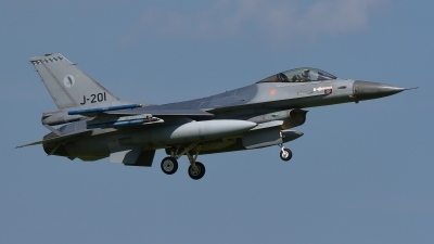 Photo ID 194726 by Rainer Mueller. Netherlands Air Force General Dynamics F 16AM Fighting Falcon, J 201