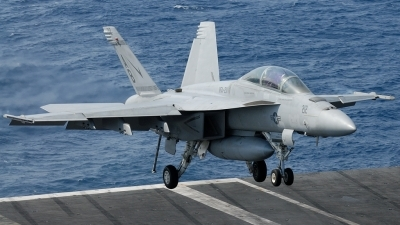 Photo ID 195004 by Klemens Hoevel. USA Navy Boeing F A 18F Super Hornet, 166814