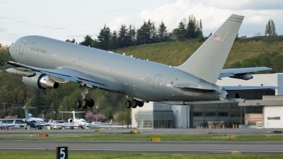 Photo ID 195140 by Alex Jossi. USA Air Force Boeing KC 46A Pegasus 767 200LRF, N464KC