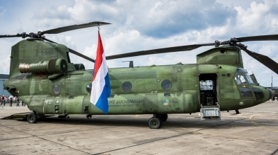 Photo ID 195226 by Lukas Könnig. Netherlands Air Force Boeing Vertol CH 47D Chinook, D 665