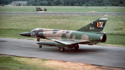 Photo ID 195296 by Alex Staruszkiewicz. Belgium Air Force Dassault Mirage 5BR, BR23
