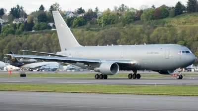 Photo ID 195639 by Alex Jossi. USA Air Force Boeing KC 46A Pegasus 767 200LRF, N464KC