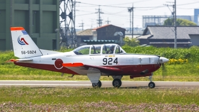 Photo ID 195660 by Yasunobu Fuse. Japan Air Force Fuji T 7, 56 5924