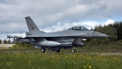 Photo ID 195949 by Kostas D. Pantios. Norway Air Force General Dynamics F 16AM Fighting Falcon, 667