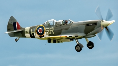 Photo ID 201348 by Pedro Castellano García. Private Historic Flying Ltd Supermarine 509 Spitfire T9C, G CCCA