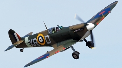 Photo ID 196023 by Steve Homewood. Private Comanche Fighters LLC Supermarine 300 Spitfire Mk1A, G AIST