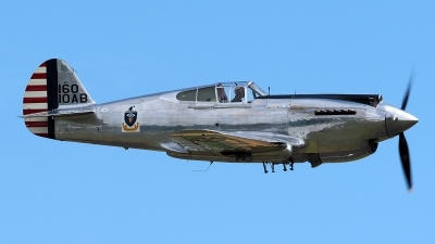Photo ID 196057 by Steve Homewood. Private The Fighter Collection Curtiss P 40C Warhawk, G CIIO