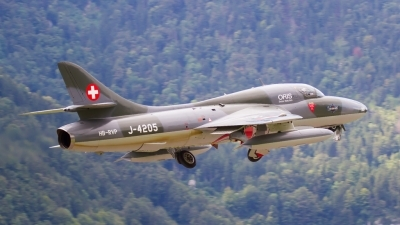 Photo ID 196073 by Agata Maria Weksej. Private Fliegermuseum Altenrhein Hawker Hunter T68, HB RVP