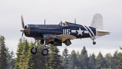 Photo ID 196097 by Aaron C. Rhodes. Private Olympic Flight Museum Goodyear FG 1D Corsair, NX72NW