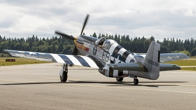 Photo ID 196088 by Aaron C. Rhodes. Private Historic Flight Foundation North American P 51B Mustang, NX5087F