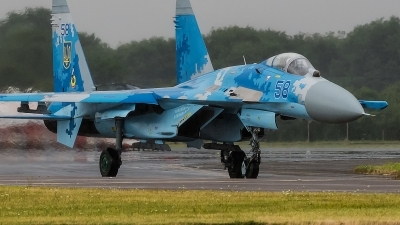 Photo ID 196198 by Alex van Noye. Ukraine Air Force Sukhoi Su 27S,
