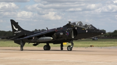 Photo ID 23380 by Andreas Hunold. UK Navy British Aerospace Harrier T8, ZD990