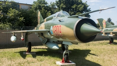 Photo ID 196530 by Gyula Rácz. Hungary Air Force Mikoyan Gurevich MiG 21MF, 9309