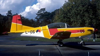 Photo ID 196496 by Carl Brent. Netherlands Air Force Pilatus PC 7 Turbo Trainer, L 05