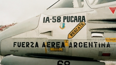 Photo ID 23403 by Carlos Ay. Argentina Air Force FMA IA 58A Pucara, A 568