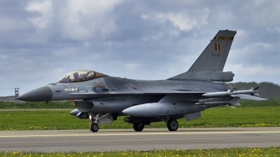 Photo ID 196676 by Kostas D. Pantios. Belgium Air Force General Dynamics F 16AM Fighting Falcon, FA 119
