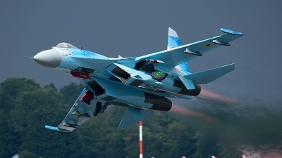 Photo ID 197740 by Alistair Forrest. Ukraine Air Force Sukhoi Su 27P,