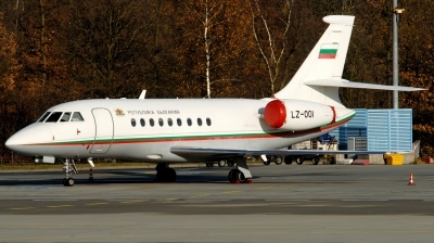 Photo ID 196900 by Hans-Werner Klein. Bulgaria Government Dassault Falcon 2000, LZ OOI