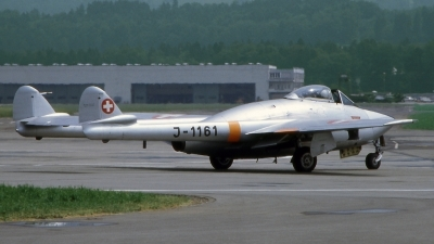 Photo ID 196923 by Marc van Zon. Switzerland Air Force De Havilland DH 100 Vampire FB 6, J 1161