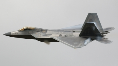 Photo ID 196973 by Ian Nightingale. USA Air Force Lockheed Martin F 22A Raptor, 09 4180