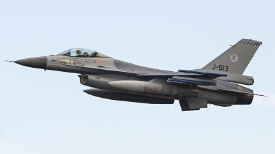 Photo ID 196963 by Ruben Galindo. Netherlands Air Force General Dynamics F 16AM Fighting Falcon, J 513