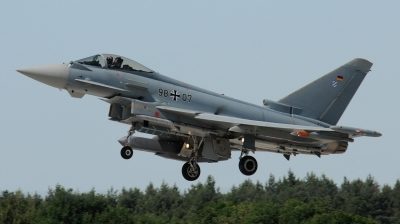 Photo ID 196991 by Florian Morasch. Germany Air Force Eurofighter EF 2000 Typhoon S, 98 07