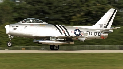 Photo ID 197070 by David F. Brown. Private Private North American F 86A Sabre, N48178