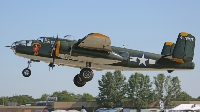 Photo ID 197182 by David F. Brown. Private Champaign Aviation Museum North American B 25N Mitchell, N744CG