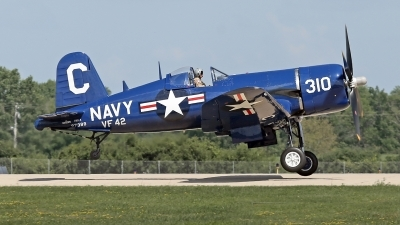 Photo ID 197351 by David F. Brown. Private Tri State Aviation Vought F4U 4 Corsair, N72378