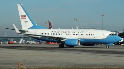 Photo ID 197555 by Michael Frische. USA Air Force Boeing C 40B 737 7CP BBJ, 01 0041