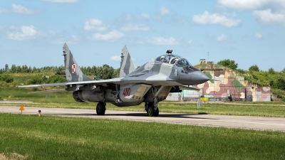 Photo ID 197461 by Robin Coenders / VORTEX-images. Poland Air Force Mikoyan Gurevich MiG 29GT 9 51, 4110